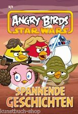 Fachbuch Angry Birds™ Star Wars™, 4 spannende Geschichten, NEU, Hardcover, TOLL