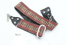 Vintage Ace-Style Unknown Hippie Banjo / Guitar Strap - clip hook style