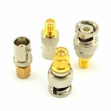 SMA to BNC Kits RF Coaxial Adapter Male Female Coax Connector 4 Pieces FP