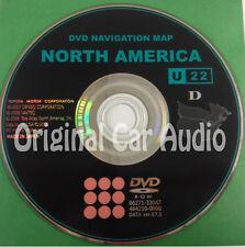 Toyota Lexus Navigation GPS System Map DVD Disc CD 86271-33047 Version 07.1 U22