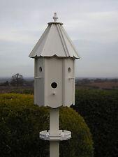 """TITCOTE DOVECOTE STYLE BIRD HOUSE/BIRD BOX (HANDCRAFTED)  """" + FREE FEEDING TRAY"""""""