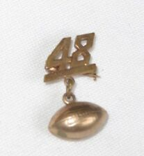1948 Football Pin Vintage Jewelry (ab2137)