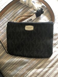 Michael Kors Belt Bag With Adjustable Strap In Black Size Small