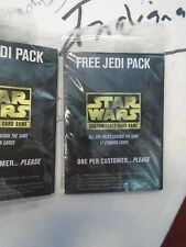 one 11 card JEDI PACK [factory sealed] star wars ccg swccg set