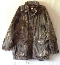 Remington Large Real Tree Camo Camouflage Deer Bird Hunting Jacket Parka