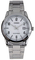 Casio Men's Analog Solar Powered Stainless Steel Watch MTPVS01D-7B