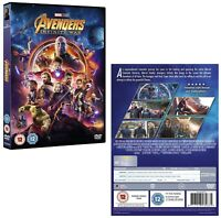 MARVEL'S AVENGERS 3 (2018) 'INFINITY WAR': EU Region 2 - 2D DVD NEW - Action