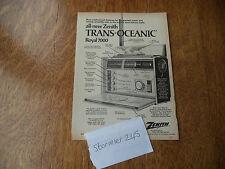 Zenith Trans OCEANIC ROYAL 7000 VINTAGE PUB