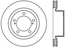 Centric Parts 120.44162 Front Premium Brake Rotor