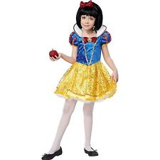 CALIFORNIA COSTUMES SNOW WHITE DELUXE GIRLS HALLOWEEN COSTUME SIZE SMALL 6-8