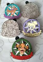 Compass Collection 2012 Hidden Mickey WDW Walt Disney World Pin Make a Set Lot