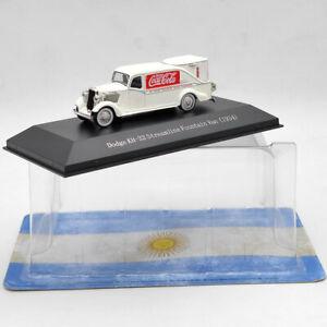 1/72 Dodge KH-32 Streamline Fountain Van 1934 Diecast Model Collection White