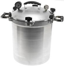 All-American 930 30-Quart Pressure Cooker/Canner Aluminum NEW! Steam Gauge