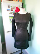 Karen Millen Limited Edition Black Leather Dress