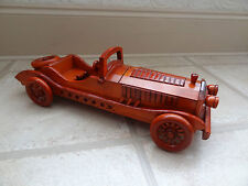 Wooden car with storage on the front, handmade, hand crafted
