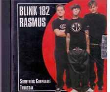 BLINK 182 RASMUS SOMETHING CORPORATE THURSDAY  CD RARE