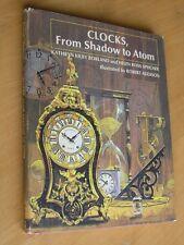 Clocks From Shadow To Atom Kathryn Kilby Borland Helen Ross Speicher 1969 illust