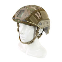 Tactical Military Multicam Camouflage Helmet Cover For FAST Helmet Accessory