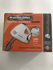 Proctor Silex 62509RY 5-Speed Hand Mixer White