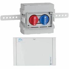 Teco K4.0 Absperr-Kit Wasser-Absperrsystem Unterputz DN15 inkl. Blende B03 Weiß
