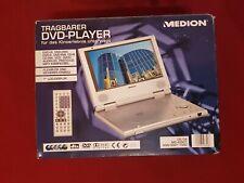 Retro Tragbarer DVD-Player + Zubehör Medion MD 40907 ** NEU **