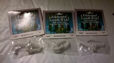3 Darice Enchanted Candle Wicks Item 1195-93 New 2 x 2.5 inch