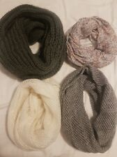 Bulk Womens Snoods (Scarf/Scarves) - Assorted Patterns - Excellent Condition