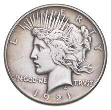1921 Peace Silver Dollar - Jacobs Coin Collection *387
