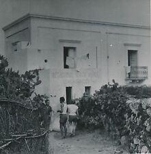 STROMBOLI c. 1950 - Village Étudiants Iles Éoliennes Italie - Div 10586
