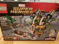 LEGO 76059 MARVEL Super Heroes Spiderman Doc Ock's Mech only, NO tentacle ARMS