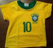 Brazil Toddler/Baby Soccer Jersey Size 18-24mo Brasil CBF Soccer