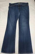 Old Navy The Flirt Womens Distressed Dark Wash Bootcut Jeans Size 12 Inseam 32