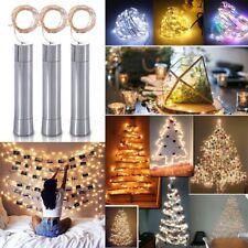 Korken geformte Lichterkette AA Batterie 10er,15er,20er LED Weinflaschen Lampe