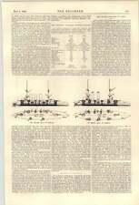 1900 imperial japonés Crucero Yakumo descripción colapso de puente en París