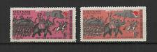 Vietnam du Nord 1971 insurrection de Tay son 2 timbres neufs MNH /TR8419