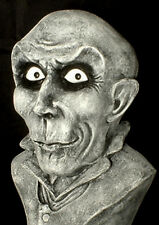 "HAUNTED Creepy Bust Statue""EYES FOLLOW YOU"" Halloween Mansion gothic prop"