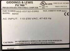 GIDDINGS & LEWIS : PLCs : Pic900 : Power Supply : 50 Watts # 502-03732-03 R0