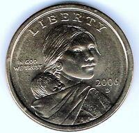 2006-D Denver $1 Brilliant Uncirculated Business Strike Sacajawea Dollar Coin!