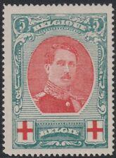 BELGIUM   1915 Red Cross charity   5+5 Cents  Good Unused (P53)