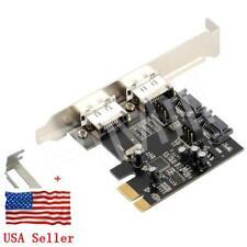 PCI-E Express SATA3 6Gb/s eSATA SATA III Card w/Low Profile Bracket US Stock
