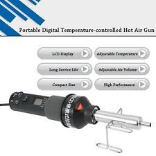 110V/220V LCD Soldering Station Hot Air Gun ICs SMD Desolder For BGA Nozzle Q2J4