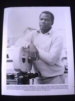 "Sidney Poitier Press Photo for Movie ""Hanky Panky"" as Director.  8"" x 10"" Glossy"