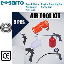 Marro 5pcs Air Compressor Kit Spray Gun Hose Duster Accessories Tool Tyre Inflat