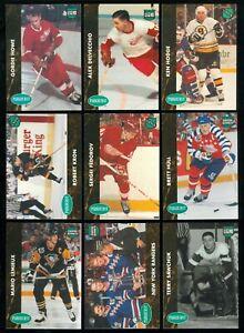1991-92 PARKHURST ROOKIE NHL HOCKEY ENGLISH CARD SEE LIST