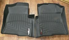 Black WeatherTech 441791 Custom Fit Front Floor Liner Mats for Ford F-150