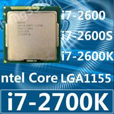 Intel Core i7-2600 i7-2600S i7-2600K i7-2700K  LGA1155 CPU Processor