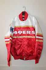 New NFL San Francisco 49ers polyester jacket men's L