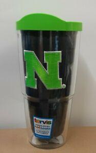 Tervis Tumbler Nebraska Cornhuskers Logo Emblem 24oz with Neon Lid Quartz New