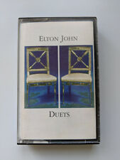 ELTON JOHN   - Duets - cassette tape - 1993 Happenstance / Rocket records