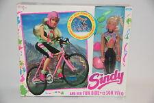 Sindy and Her Fun Bike Hasbro 1993